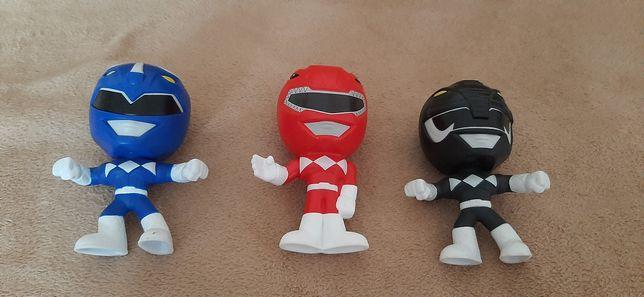 Іграшкові герої з фільма  Могутні рейнджери