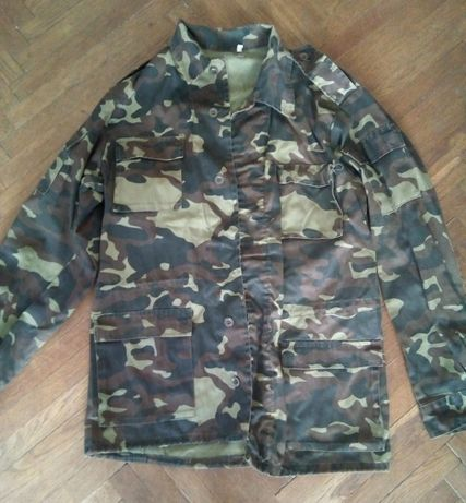 курточка куртка камуфляж размер 46 - 48 милитари