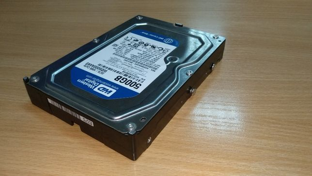 "Жесткий диск 3,5"" (HDD) винчестер 500 Gb Western Digital Caviar Blue"