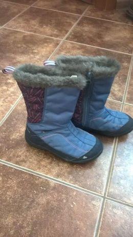 Buty śniegowce Decathlon rozmiar 31