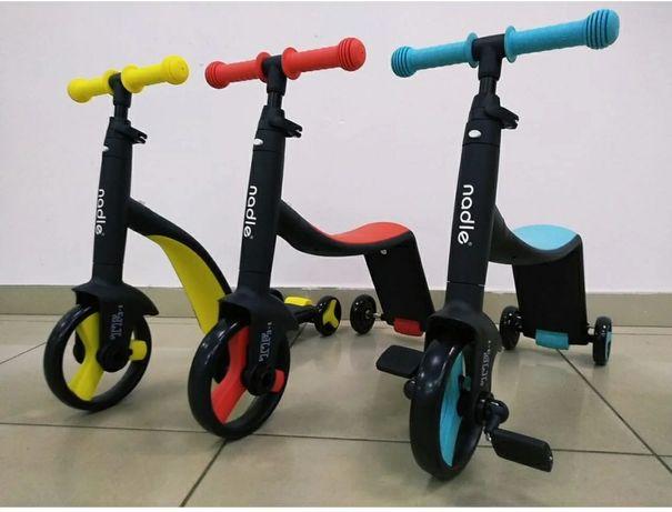 Nadle двухколесный велосипед беговел original есть видео обзор отличия