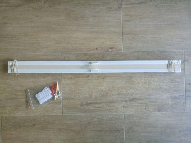 NOWA plisa do wysokiego okna, szer. 833mm, wys. 2035mm.