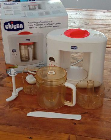 Vendo máquina de cozer a vapor da Chicco usada em bom estado