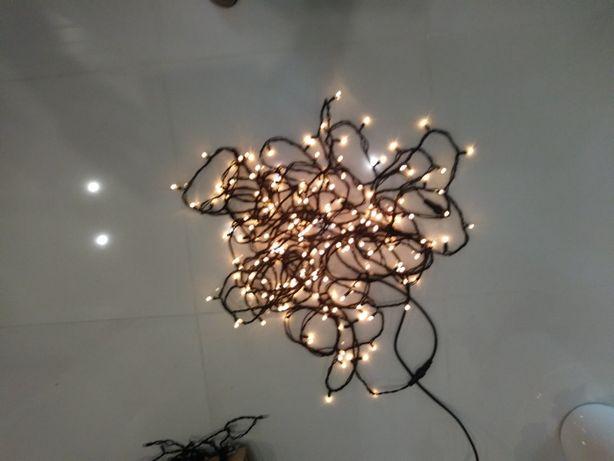 Lampki na choinkę, na zewnątrz 18 mb super Tanio!!!