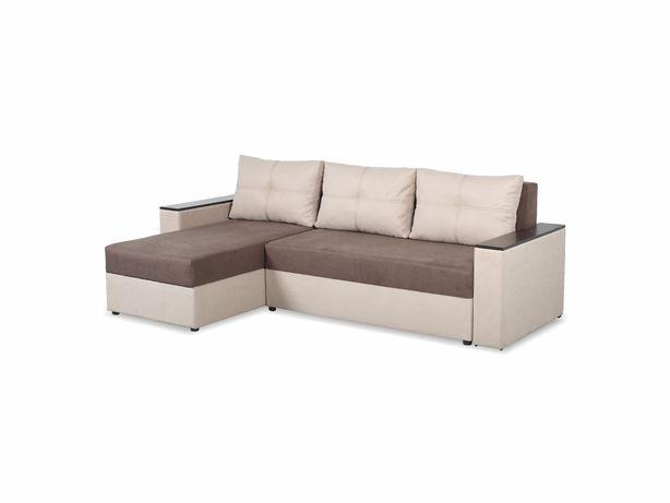 Угловой диван Далас, угол взаимозаменяемый