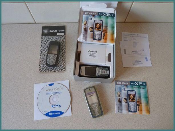 Telefon komórkowy SAGEM myX5-2