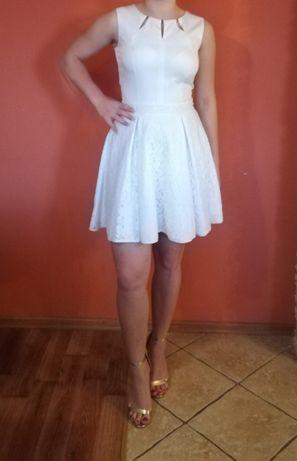 biała sukienka roz.38