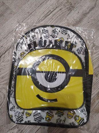 Nowy plecaczek przedszkolaka Minionek
