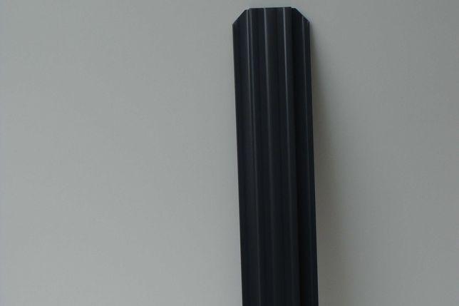 sztacheta metalowa STANDARD grafit 7016 sztachety metalowe ogrodzenia