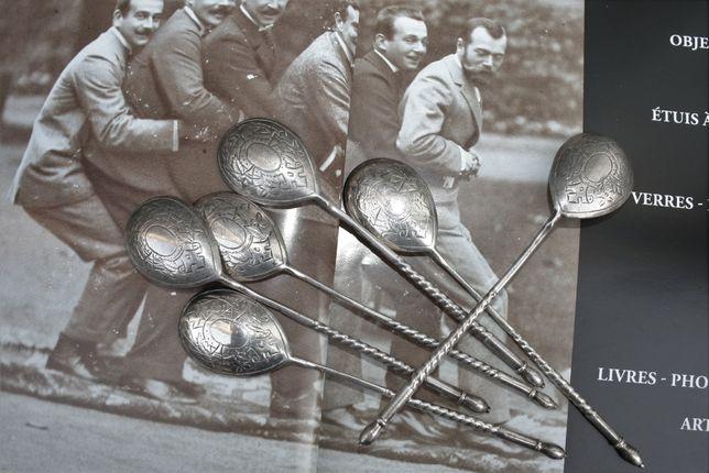 Ложки серебряные серебро 84 99г