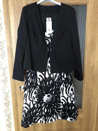 Komplet sukienka i żakiet jak nowe