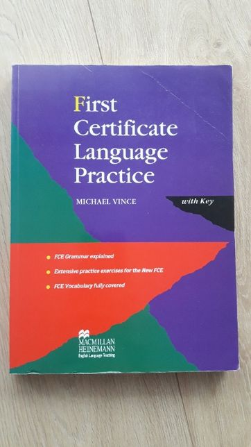 First Certificate Language Practice Michael Vince