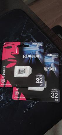 Карта памяти Kingston 32 GB MicroSD 10 class