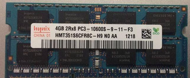 Память Hynix 4Gb So-DIMM PC3-10600S