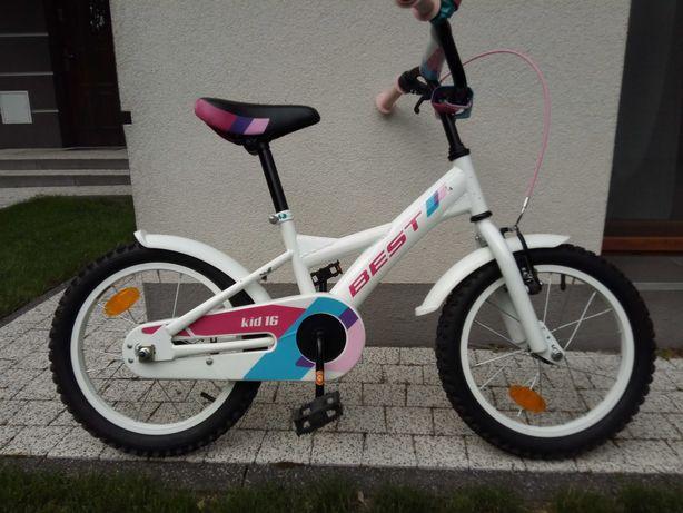 """Rower z kółkami dla dziewczynki ,  Kross Best 16"""""""
