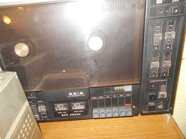 PRL magnetofon szpulowy Aria hi fi stereo Unitra sprawny
