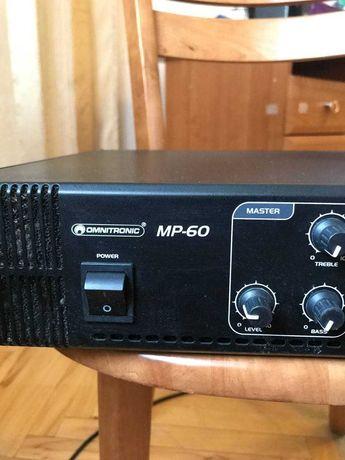 Трансляционный Усилитель  OMNITRONIC MP- 60