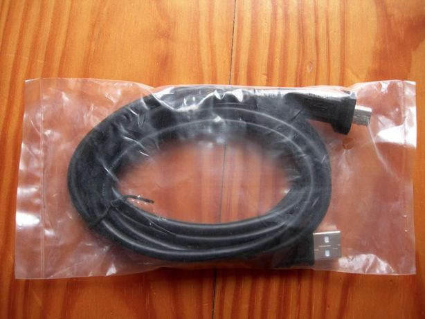 Cabo usb 2.0, —A to B!