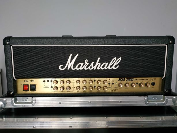 Marshall JCM2000 TSL 100 + case + mods