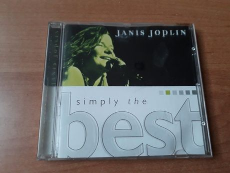 "Płyta CD ""Simply the best"" Jenis Joplin"