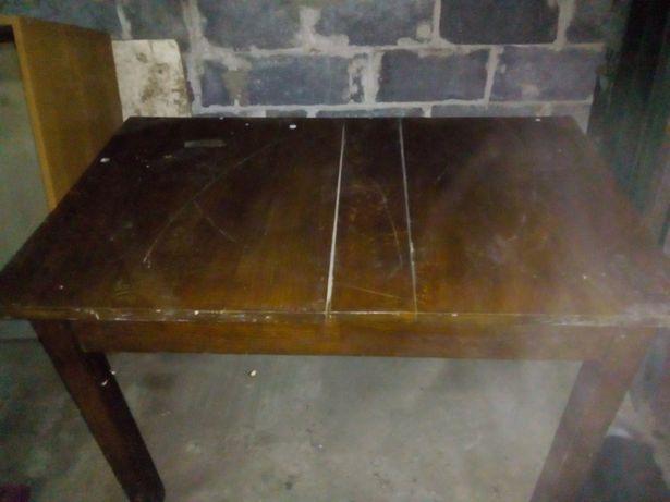 Stół dębowy, oryginalny