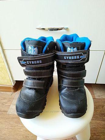 зимние термо ботинки B&G 35 размер стелька 23 см
