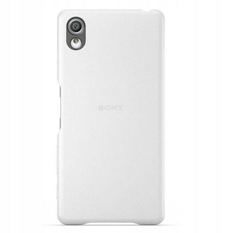 Etui pokrowiec SBC22 Sony Xperia X NOWY osłona biała Style Cover