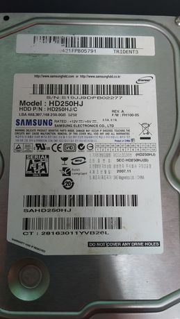 Жесткий диск 250Gb Samsung