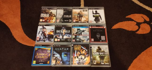 Gry PS3 PlayStation 3 Sony konsola