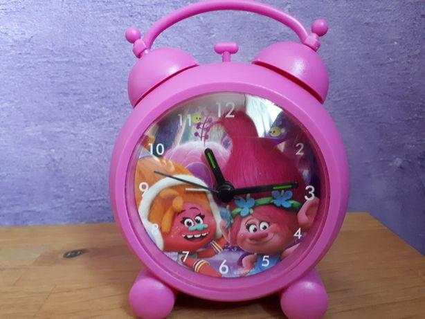 Budzik dla dzieci, dziecięcy, zegar, zegarek trolle, poppy
