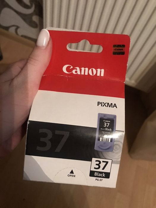 Картридж CANON PG-37 Black принтер Винники - изображение 1