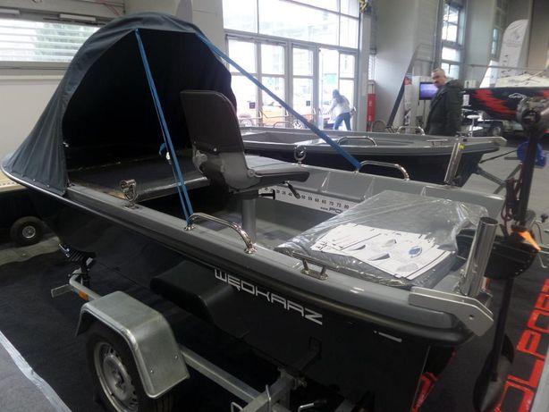 Łódź łódka wiosłowa wędkarska POLPORT 345 NOWOŚĆ