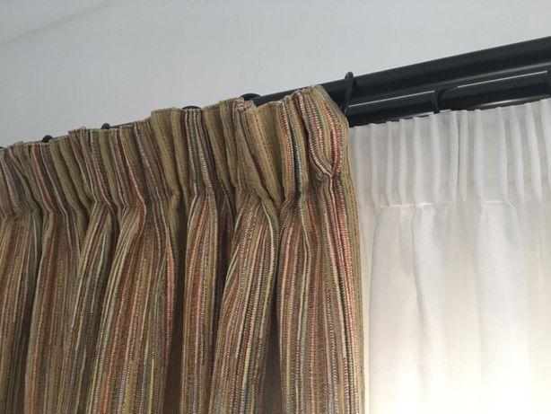 Cortinas com tecido de alta qualidade