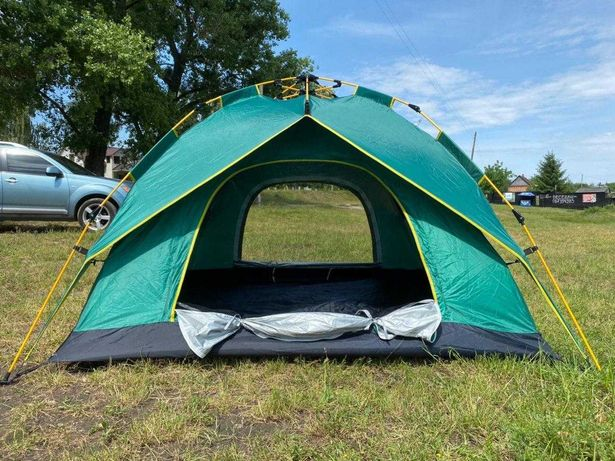 двухслойная / (палатка с быстрым каркасом) / автоматическим