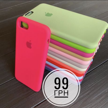 чохол чехол silicone case для на айфон iphone 6 6s 7 7+ 8 8+ X Xs