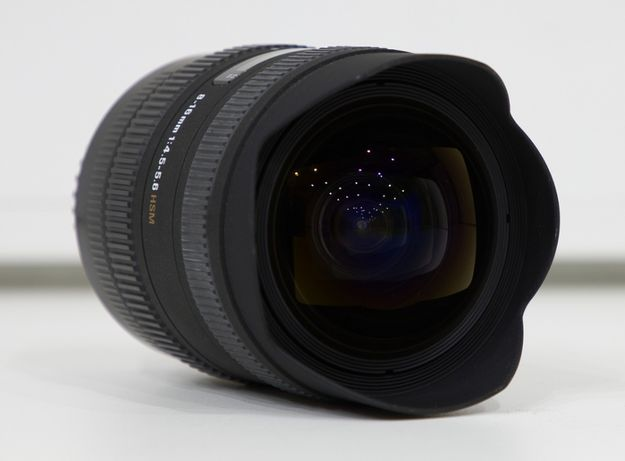 Sigma 8-16mm f/4,5-5,6 AF DC HSM para Canon