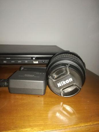 Obiektyw+ ładowarka Nikon