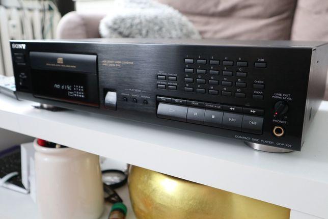 Odtwarzacz CD Sony CDP-797 z pilotem