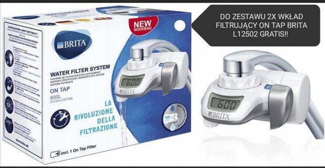 System filtrujący wodę na kran BRITA 600L + 2x wkład filtrujący L12502