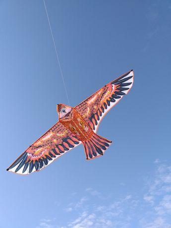 Змей воздушный гигантский Сокол Орел 1,55 см размах крыльев