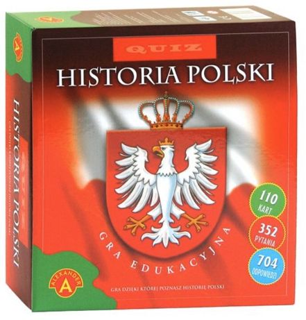 Gra planszowa -Historia Polski - NOWA