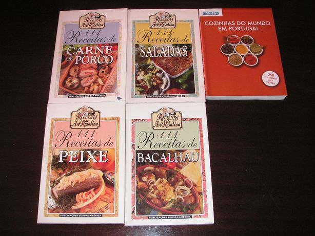 Receitas Avó Rosalina e Cozinhas do Mundo em Portugal