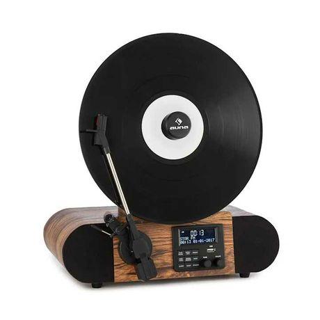 Gramofon Verticalo SE DAB Auna fm Bluetooth usb