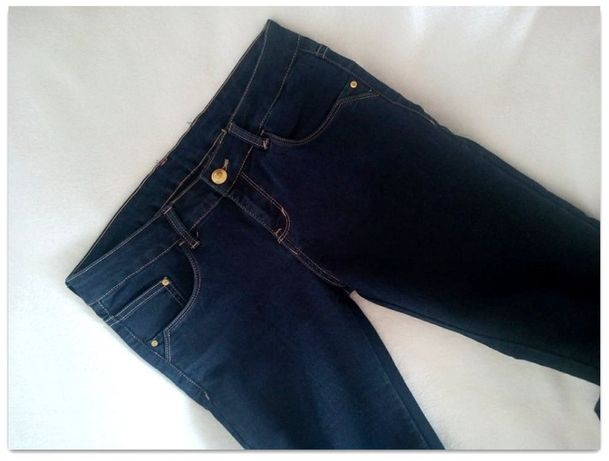 Spodnie dżinsowe / jeansy. Denim. Klasyczne. M/38