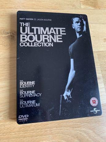 Jason Bourne - 3 filmy, wersja metal box