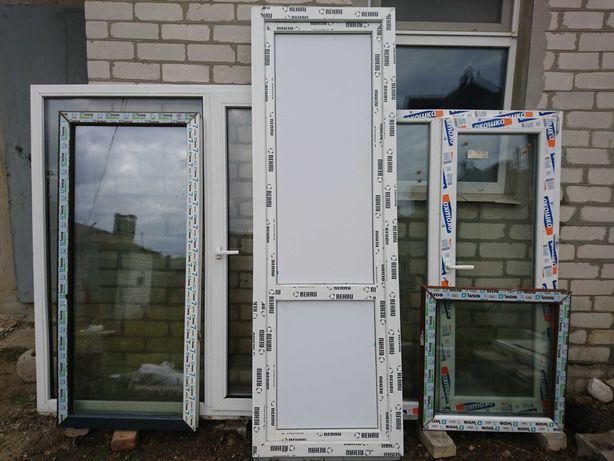 Пластиковые окна и двери..