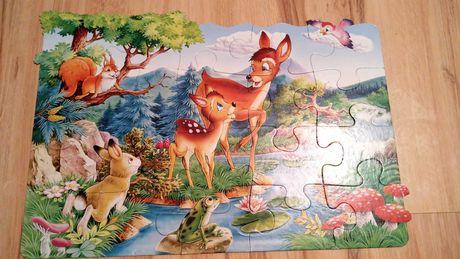 Puzzle, 24 elementy, duże