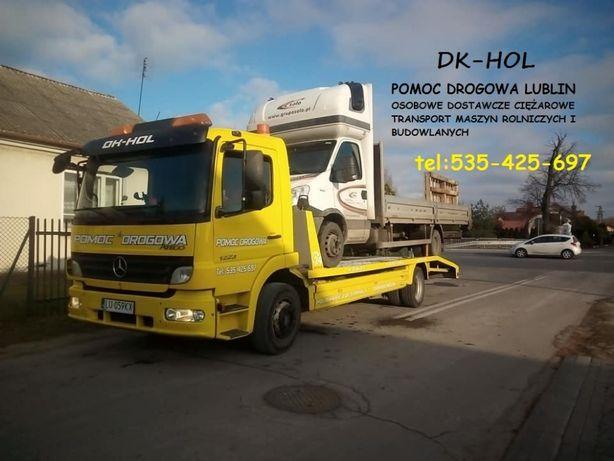 Pomoc Drogowa Transport maszyn Transport laweto holowanie