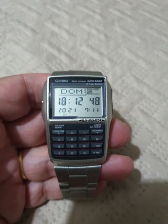 Relógio Casio com Calculadora
