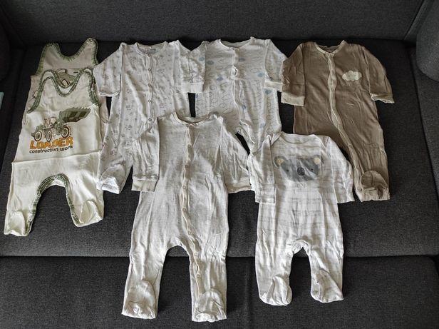 Pajace/Śpiochy/Piżamy niemowlęce r.68